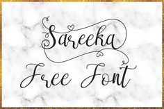 DLOLLEYS HELP: Sareeka Free Font
