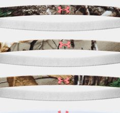 """Women's Under Armour Outdoor Mini Headbands   THE FUNDAMENTALS: Soft elastic mini headband with grippy silicone UA logos for stay-put performance * Moisture-wicking fabric helps keep you cooler and drier * Width: 3/8"""" * Sold in sets of 6 * Women's one size fits all * Imported"""