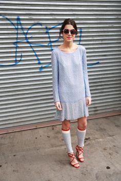 Prada sans Prada. cool. Leandra in NYC. #LeandraMedine #ManRepeller
