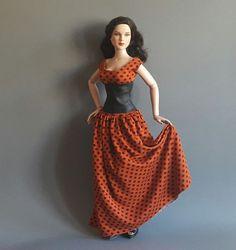 ilovethatdoll dress & corset for Tonner 17 DeeAnna DeDe Denton | eBay