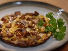 Potato Omelette (minus the bacon)