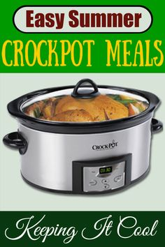 Easy Crockpot Meals Cool Kitchen