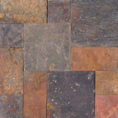 MS International Peacock Pattern Gauged Slate Floor and Wall Tile (16 sq. ft. / case)-SMCLAS-ASH-3-G - The Home Depot