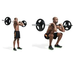 Full body barbell workout for muscle growth