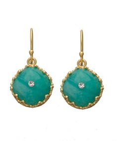 Indulgems Amazonite Drop Earrings