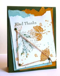 SUO, Fall Thank You... by Luv Flowers - Cards and Paper Crafts at Splitcoaststampers
