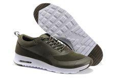 Great Discount Nike Air Max Thea Print Heren khaki Olive Groen