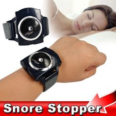 Night Aid Infrared Ray Intelligent Detects Anti Snore Stop Snoring Biosensor Device Wristband Watch Cure Solution Pure Sleeping  #me #classic #cool #instalike #inlove