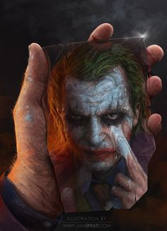 The Joker - The Dark Knight | The Most Amazing Pop Culture Art You Will Ever See