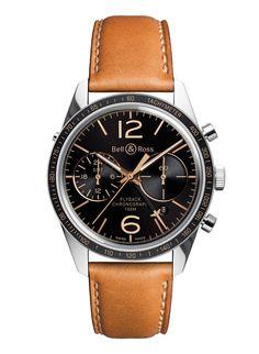 La montre BR126 Sport Heritage GMT & Flyback de Bell & Ross http://www.vogue.fr/vogue-hommes/montres/diaporama/la-montre-br126-sport-heritage-gmt-flyback-de-bell-ross/20717