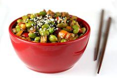 Warm Edamame Salad