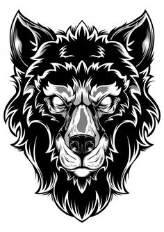 Find Wolf Face Art Design Head stock images in HD and millions of other royalty-free stock photos, illustrations and vectors in the Shutterstock collection. Wolf Face Tattoo, Tribal Wolf Tattoo, Wolf Tattoo Design, Tattoo Designs, Head Tattoos, I Tattoo, Wolf's Head, Face Art, Vector Graphics