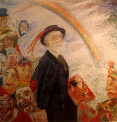 Self Portrait,James Ensor and the masks   Maria Trepp's