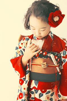 The little girl of the kimono. #Kimono