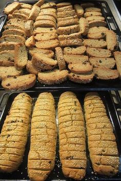 Greek Sweets, Greek Desserts, Greek Recipes, Vegan Desserts, Greek Cookies, Almond Cookies, Paximathia Recipe, Easy Cooking, Cooking Recipes