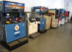 """During its final days, the Soviet Union was manufacturing arcade games with names like """"Sea Battle"""" and """"Sniper"""" that were much like the ones played by their political enemies in the United States."""