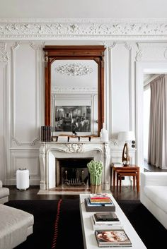 Modern French contemporary parisian Interiors 12
