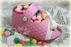 Dicas pra Mamãe: Sapatinho de papel para Chá de Bebê