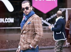 Street Style from Pitti Uomo, Persol?