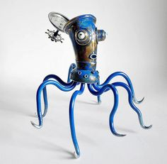 Lithuanian Artist Creates Stunning Steampunk Sculptures From Trash