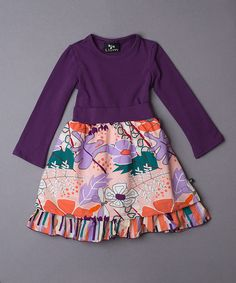 Look at this Canyon Petticoat Dress - Girls on #zulily today!