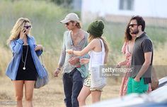 Andrea Casiraghi and Tatiana Santodomingo are seen sighting on June 6 2011 in Ibiza Spain
