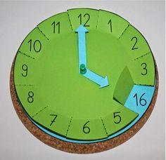Klokkijken klok maken