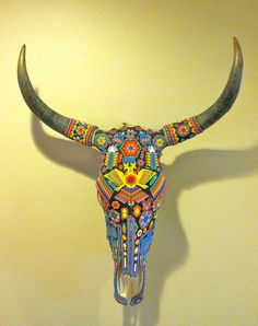 RESERVED for JAN Vintage Huichol Beaded por smartysfunstuff