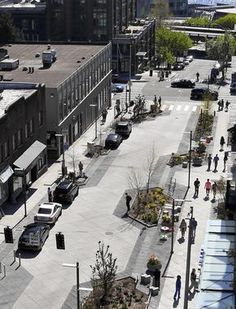 Beyond Complete Streets The post Beyond Complete Streets appeared first on street. Landscape Architecture Design, Urban Architecture, Landscape Plans, Sustainable Architecture, Urban Design Concept, Urban Design Plan, Parking Plan, Pavement Design, Plaza Design