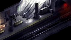 2D survival horror game mockup - subway by Pyroxene on DeviantArt