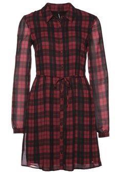 Bonito vestido casual de Pepe Jeans para mujer. http://stylabel.com/product/pepe-jeans-jenna-vestido-camisero-rojo/1948698