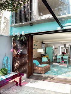 casa moderna colorida