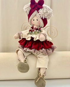 1 million stunning free images Valentine Day Crafts, Christmas Crafts, Christmas Ornaments, Baby Doll Nursery, Sewing Toys, Soft Dolls, Doll Crafts, Fabric Dolls, Toys For Girls