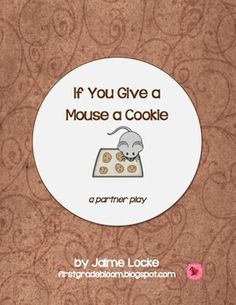 100 free scripts based on childrens books plays are a fun way to readers theater if you give a mouse a cookie partner trio play fandeluxe Image collections