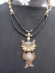 OWLS ARE MY FAVORITE  $16.95  www.etsy.com/shop/meandjpsjewelry