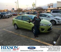Congratulations Destiny on your #Ford #Fiesta from Addie Sandoz at Hixson Ford of Alexandria!  https://deliverymaxx.com/DealerReviews.aspx?DealerCode=UDRJ  #HixsonFordofAlexandria