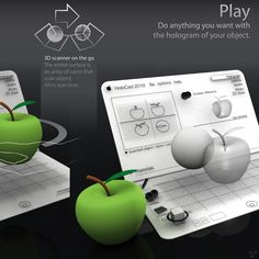 The Concept MacBook Of The Future « Gadgets & New Technology Futuristic Technology, Technology Gadgets, New Technology, Techno Gadgets, Geek Gadgets, Macbook, Holography, Future Gadgets, Pc Parts
