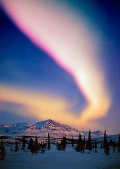 Northen lights over Alaska