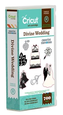 Cricut® Divine Wedding - Cricut Shop  I would get it, if they didn't want $60+!!!!