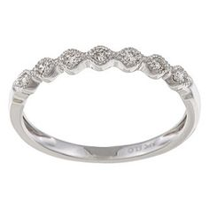 this is pretty but i don't think it would match my engagement ring :\