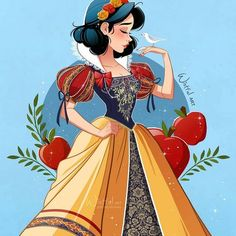 Disney Princesses And Princes, Disney Princess Drawings, Disney Princess Art, Disney Princess Pictures, Disney Princess Dresses, Disney Pictures, Disney Drawings, Disney Artwork, Disney Fan Art