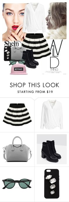 """""""SheIn contest"""" by almina21 ❤ liked on Polyvore featuring By Malene Birger, Givenchy, Zara, Ray-Ban and STELLA McCARTNEY"""