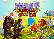 Fruit Zombie Defense   Juegos Plants vs Zombies - jugar gratis