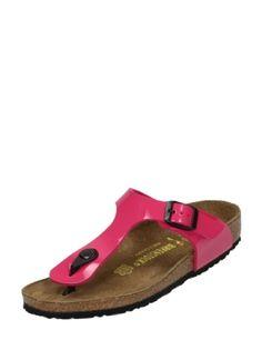Birkenstock Gizeh roze kinderslippers
