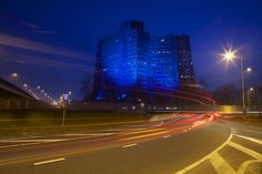 Gasunie blue Groningen, light it up for autism.