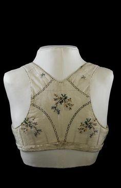 bodice empress josephine back 1800s Fashion, 19th Century Fashion, Vintage Fashion, Historical Costume, Historical Clothing, Corsage, Empress Josephine, Regency Dress, Regency Era