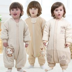 The spring and autumn period and the new Baby foot sleeping bags Long sleeve split sleeve cent leg sleeping bag robe playing bag
