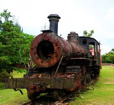 Old Train in Puerto Rico