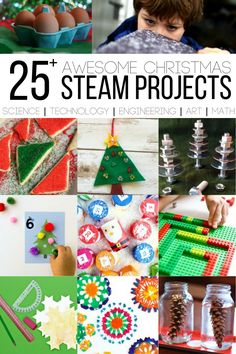 25  Christmas STEAM Projects for Busy Kids