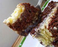Cantinho Vegetariano: Bolo de Chocolate com Beijinho de Maracujá e Creme de Alfarroba com Avelã (vegana)